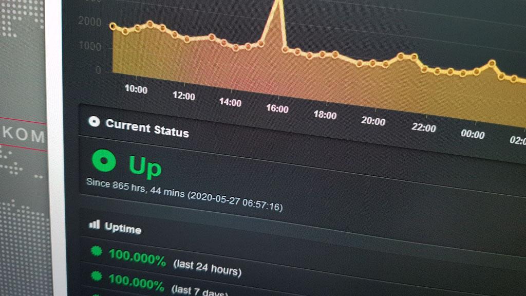 Screenshot Online Monitoring